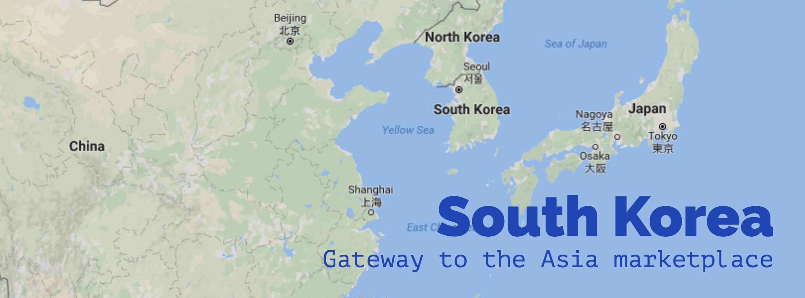 Go Global, Business trip to South Korea scheduled for April 2017, South Korea, Gateway to the Asia marketplace