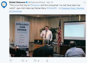 Declan loves Delaware companies