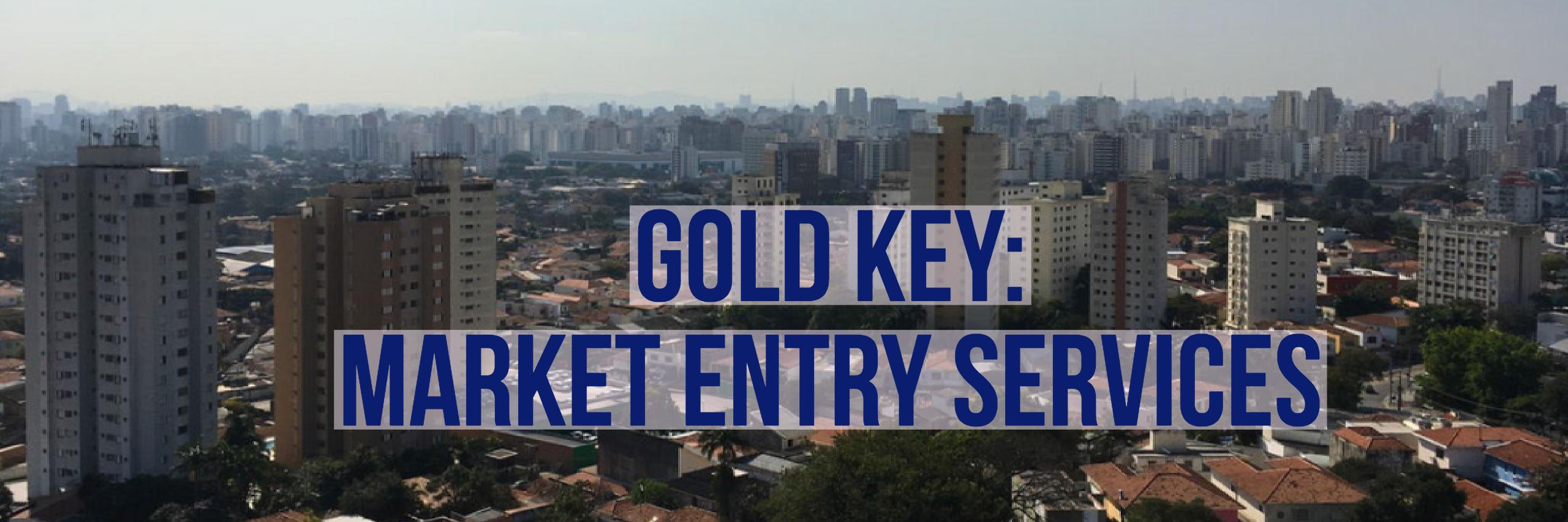Gold Key: Market Entry Services from the U.S. Department of Commerce