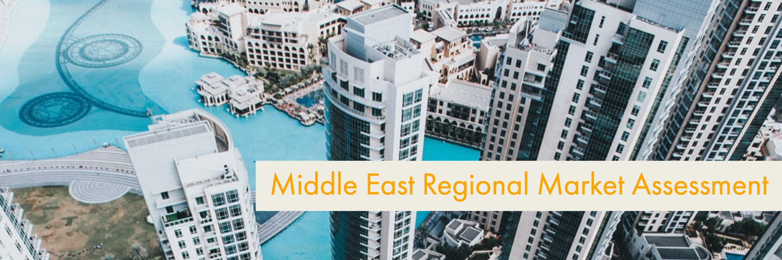 Middle East Regional Market Assessment, Export Delaware