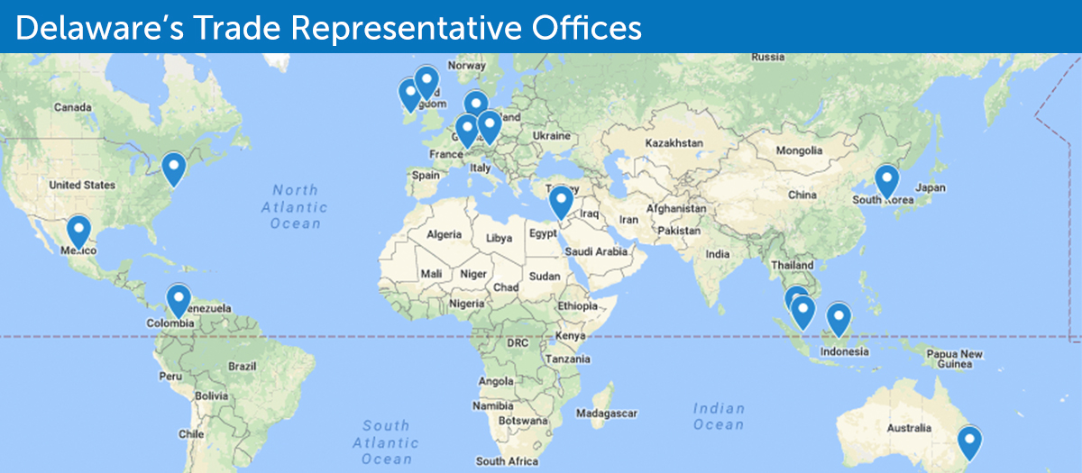 Delawares Trade Representative Offices