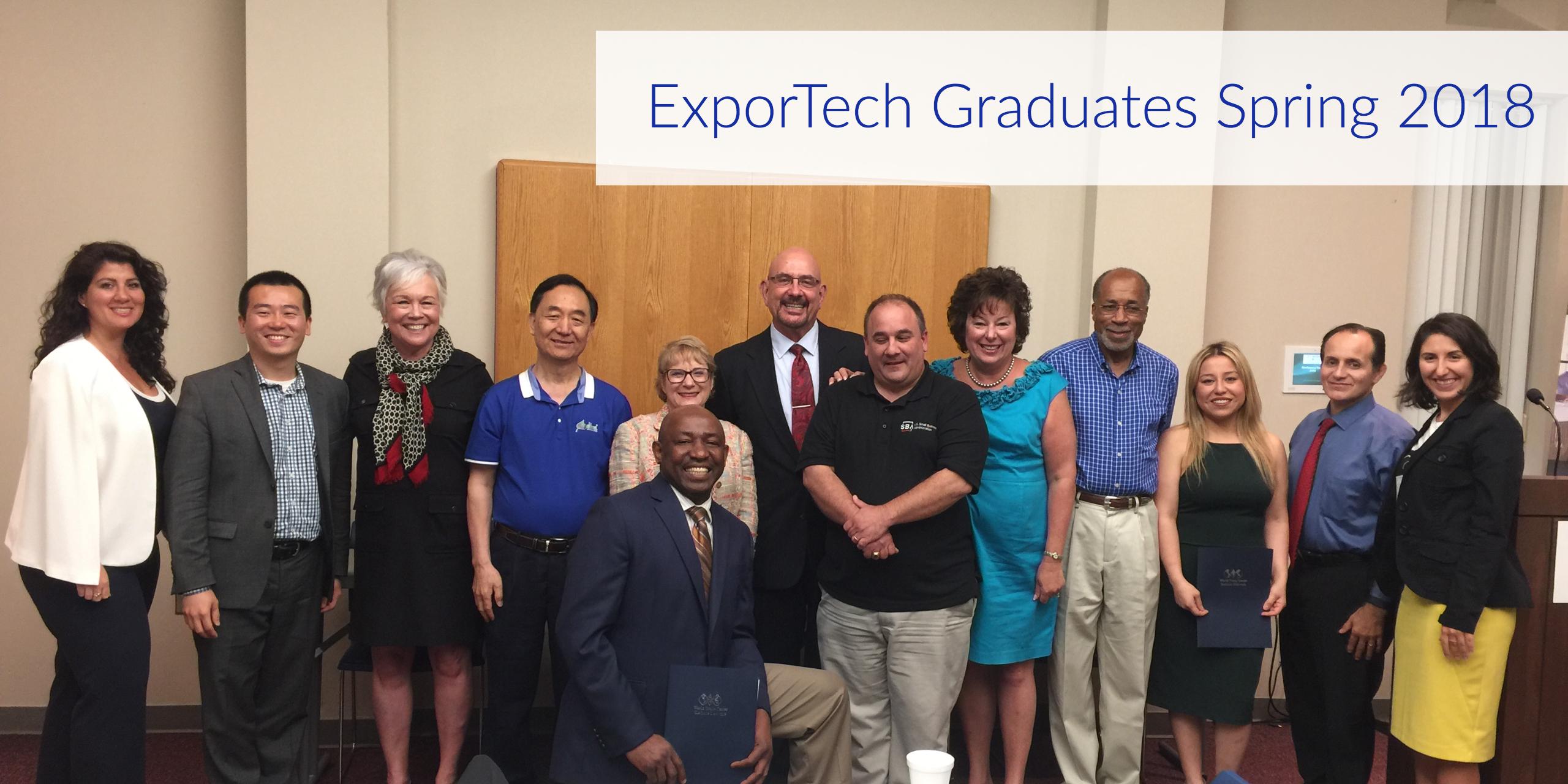 ExporTech Graduates 2018