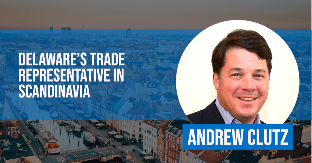 Andrew Clutz, Trade Rep in Scandinavia