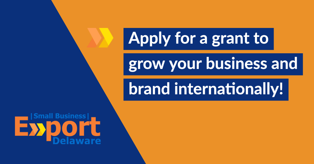 Apply for a grant to grow your business and brand internationally